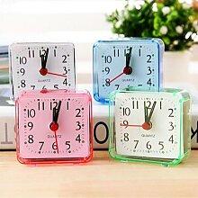 Réveil de chevet Simple, Mini horloge Portable,