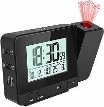 Réveil numérique à projection pour chambres à