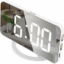 Réveil Numérique, Horloge Numérique LED Horloge