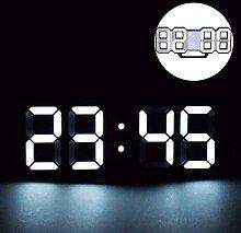 Réveil numérique LED 3D, horloge numérique,