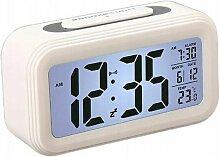 Réveil numérique multifonction LED horloge