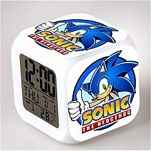Réveil Sonic The Hedgehog Horloges numériques