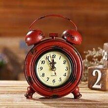 Réveil Vintage, horloge de Table analogique de