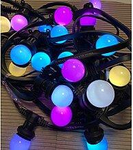Rêvenergie - Guirlande guinguette B22 RGB