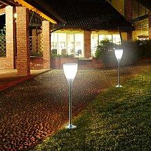 Réverbère lampe solaire jardin Led extérieure