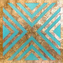 Revêtement mural coquille WallFace LU06-12 CAPIZ