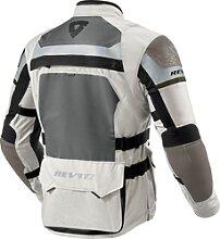 Revit Cayenne Pro, veste textile - Gris Clair/Vert