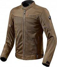 Revit Eclipse veste textile male    - Marron - 3XL