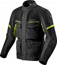 Revit Outback 3 veste textile male    - Noir/Jaune