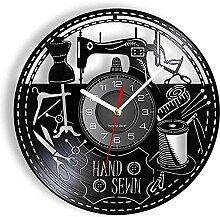 RFTGH Horloge Murale de Magasin de Couture à la