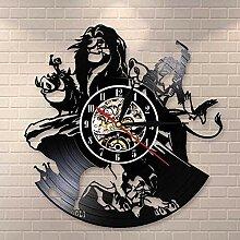 RFTGH Horloge Murale en Vinyle-Horloge Murale