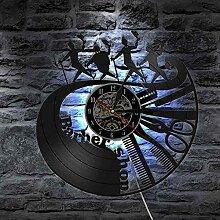 RFTGH Outils de Salon de Coiffure Horloge Murale