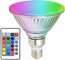 RGBW Ampoules LED PAR38 Flood 30W E27, éclairage