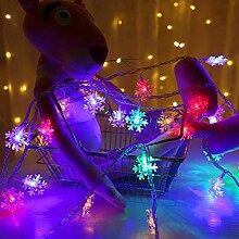 RH-ZTGY Jeu De Lumières Solaires, 32Ft 80 LED