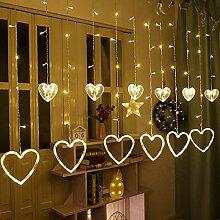RH-ZTGY Rideau De Lumières, 2,5 M × 1 M LED