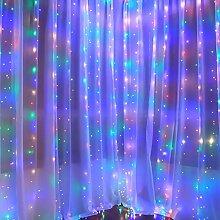 RH-ZTGY Rideau Lumière Cordes, 3 * 3M 300 LED