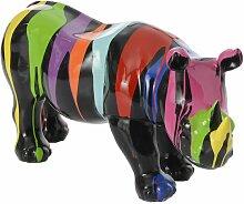 Rhino Trash Noir 48 cm- Amadeus - Multicolore
