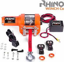 Rhino - Treuil électrique 3,000lb/1360 kg - 12V -