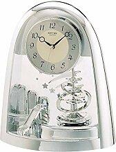 Rhythm Cont Horloge de cheminée Arched Top/carnet