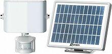 Ribimex - Spot solaire 9 w LED, 800 lumens, avec