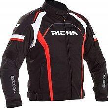 Richa Falcon 2 veste textile male    - Noir/Rouge