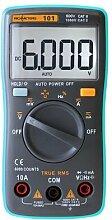 Richmètres – multimètre numérique RM101, 6000