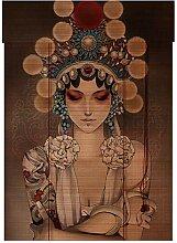 Rideau à motif Rideau à motifs Rideaux de bambou