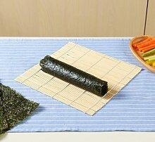 Rideau à Sushi en bambou, tapis roulant,