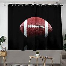 Rideau de chambre à coucher en polyester avec