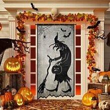 Rideau de décoration Halloween Rideau de