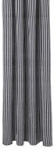 Rideau de douche Chambray Striped / 160 x H 205 cm