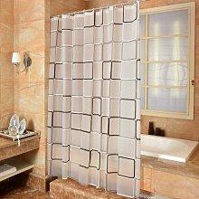 Rideau de douche pour salle de bain, 3D