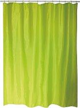 Rideau de Douche Vert Clair 180cm - MSV