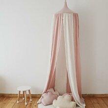 Rideau de lit avec dôme en coton pour chambre