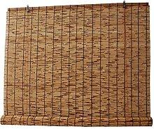 Rideau de Paille Pare-Soleil,Stores En Bambou De