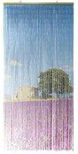 Rideau de porte (90 x H200 cm) Bambou Lavande