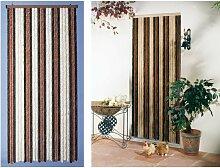 Rideau de porte chenille Florence - 100 x 220 cm -