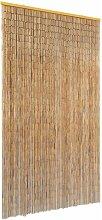 Rideau de porte contre insectes Bambou 100 x 200 cm