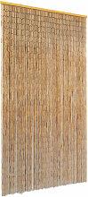 Rideau de porte contre insectes Bambou 100 x 220 cm