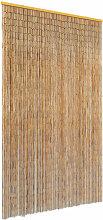 Rideau de porte contre insectes Bambou 120 x 220 cm