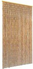 Rideau de Porte en Bambou Contre Insectes 100*200