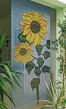 Rideau de porte en bambou - Dimensions : env. 90 x