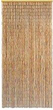 Rideau de Porte en Bambou Semi-protégé Haute