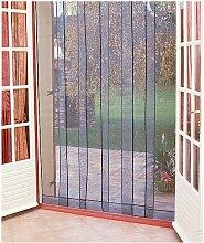 Rideau de porte moustiquaire Arles - 6 bandes -