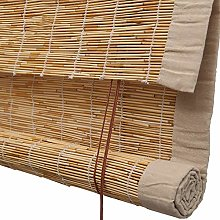 Rideau De Roseau Naturel De Store Enrouleur Bambou