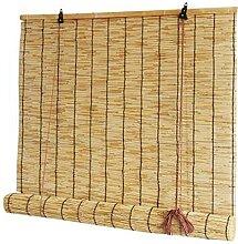 Rideau de roseau naturel, utilisé pour