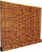 rideau de roseau store enrouleur bambou rétro