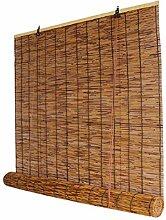 Rideau de Roseau Store Enrouleur,Stores en Bambou