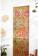 Rideau en bambou Blome Multicouleur Classic Sklum
