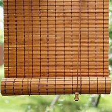 Rideau en Bambou,Naturel Store Enrouleur,90% Taux